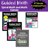 Ontario Grade 5 Math Games Bundle