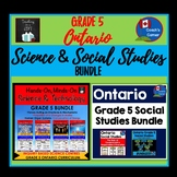 Ontario Grade 5 Science & Social Studies Super-Bundle