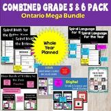 Ontario Grade 5 and 6 Mega Bundle
