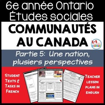 Ontario Grade 6 Social Studies: Communities in Canada Part