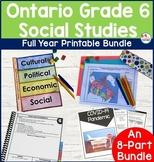 Ontario Grade 6 Social Studies Bundle