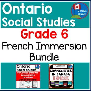 Ontario Grade 6 Social Studies Mega-Bundle - FRENCH Version