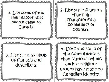 Ontario Grade 6 Social Studies and Science Task Card Bundle