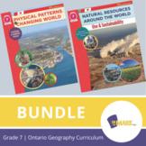 Ontario Grade 7 Geography Curriculum Bundle!
