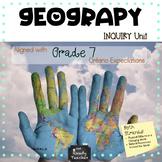 Ontario Grade 7 Geography Units
