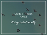 Ontario Grade 7 Religion Unit 3: Living in Solidarity (Distance Learning)