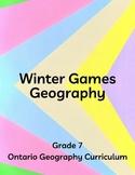 Ontario Grade 7 - Winter Games Geography
