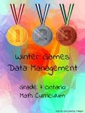 Ontario Grade 7 - Winter Olympics Math - Data Management