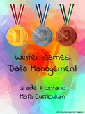 Ontario Grade 7 - Winter Olympics Math - Data Management