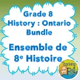 Ontario Grade 8 History French Immersion Bundle