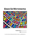 Grade 6 Math (Ontario - Measurement)