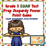 Ontario Grade Three EQAO Jeopardy Game Test Review  Measurement