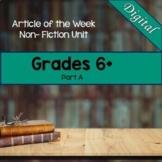 Ontario Grades 6, 7, 8 Non-Fiction Reading Articles (Digital)