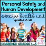 Personal Safety Ontario Health Grades 1-3   Distance Learning
