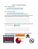 Ontario Health/Media Infographic Project - Grades 4 and 5