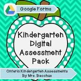 Ontario Kindergarten Communication of Learning: Digital As