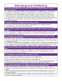 Ontario Kindergarten Program (2016): Overall and Specific