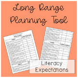 Ontario Kindergarten Program Literacy Expectation Planner