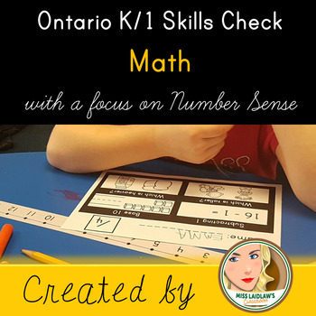 Ontario Kindergarten and Grade 1 Skills Check: Mathematics