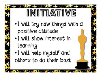 Ontario Learning Skills Posters - Movie Theme