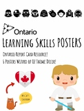Ontario Learning Skills Posters - Ontario Report Star Wars Theme Decor