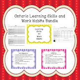 Ontario Learning Skills and Work Habits Bundle