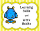Ontario Learning Skills and Work Habits Posters
