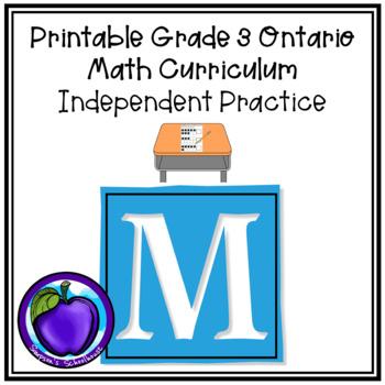 Ontario Math Independent Practice - Grade 3