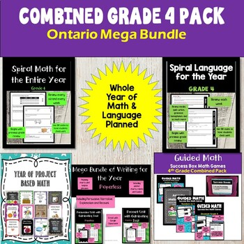 Ontario Mega Math and Language Grade 4