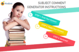Ontario Report Card - Old Math and Language Comment Genera
