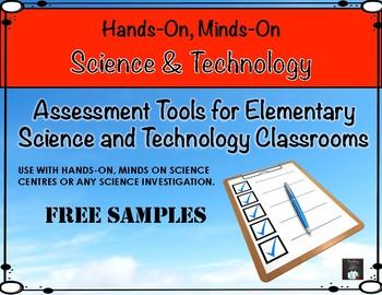 Ontario Science Assessment Toolbox SAMPLE FREEBIE