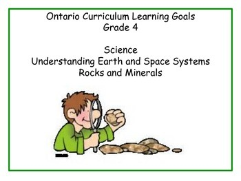 Ontario - Science - Grade 4 - Rocks and Minerals