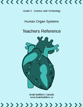 Ontario Science and Technology Grade 5 Unit - Human Organ Systems