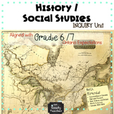 Grade 6 and 7 Ontario Social Studies and History Combined BUNDLE