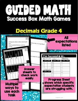 Ontario Using Decimals Grade 4