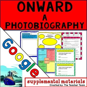 Onward: A Photobiography Journeys 6th Grade Google Drive Resource
