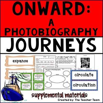 Onward: A Photobiography Journeys 6th Grade Unit 3 Lesson 13 Activities