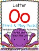 Letter Oo {Print & Play Pack}