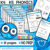 Oo   Letter Recognition   BLUE Program   Short Vowel   Phonics Garden