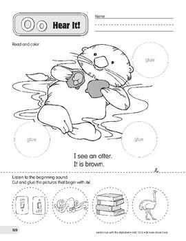 Oo: Otter, Octopus