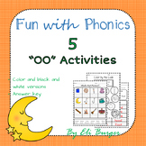 Oo  (Double O) Worksheets - Fun with Phonics