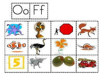 Oo and Ff sort