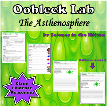 Oobleck Lab Worksheets Teaching Resources Teachers Pay