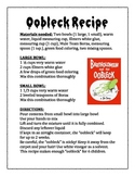 Oobleck Recipe and Activity