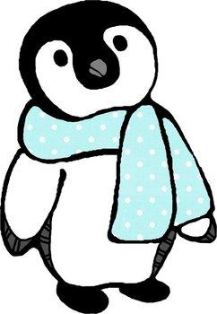 Oodles of Doodles: Baby Penguins Clip Art