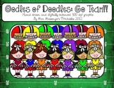 Oodles of Doodles Clip Art for Teachers: Football Teams