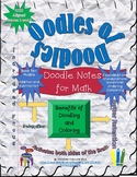 Oodles of Doodles, Doodle Notes for Math, Free Preview