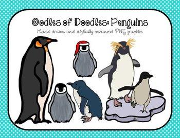 Oodles of Doodles: Penguin Clip Art
