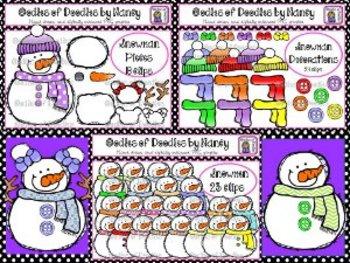 Oodles of Doodles WINTER BUNDLE CLIP ART