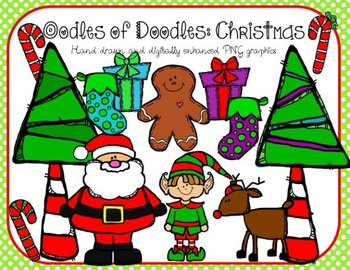 Oodles of Doodles WINTER BUNDLE CLIP ART